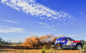 Picture The sky, Mini, Sport, Speed, Race, Rally, Dakar, Dakar, SUV, Rally, 312, X-Raid Team, MINI …
