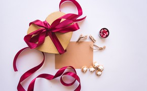 Picture Holiday, Heart, Gift, Bow, Valentine's day
