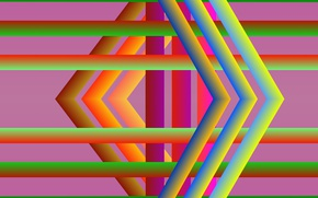 Picture color, abstraction, figure, different, bright