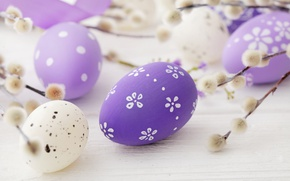 Wallpaper spring, decoration, Verba, pastel, Easter, Easter, happy, the painted eggs, spring, eggs
