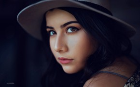 Picture look, girl, portrait, Tanya, Sergey Bidun