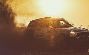 Picture Sunset, The sun, Auto, Mini, Sport, Machine, Speed, Race, Dirt, Squirt, Rally, SUV, Rally, Dirty, …