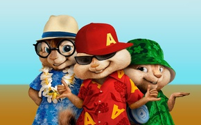 Picture cinema, hat, movie, film, animated film, animated movie, Alvin and the Chipmunks