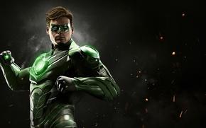 Picture man, Green Lantern, hero, justice, uniform, yuusha, seifuku, Injustice 2