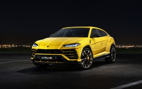 Wallpaper 2018, Urus, Lamborghini, front view