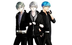 Picture Touken Ranbu, Tsurumaru Kuninagas, Ichigo Hitofuri, Uguisumaru