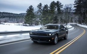 Picture Road, Dodge, Challenger, Car, AWD, 2017, Metallic