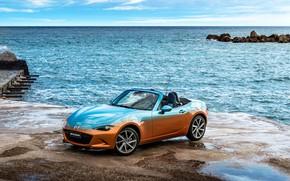 Picture sea, auto, Mazda, Mazda, Italia, MX-5, Levanto