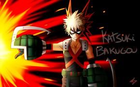 Picture anime, art, Boku no Hero Academy, My hero Academy, Bakusou