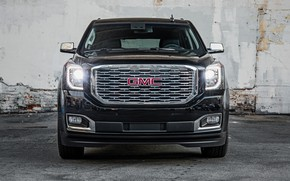 Picture front view, 2018, GMC, Yukon, Denali Ultimate Black Edition