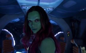 Picture Zoe Saldana, marvel, marvel, Zoe Saldana, Guardians Of The Galaxy, Gamora, Gamora, Guardians of the …