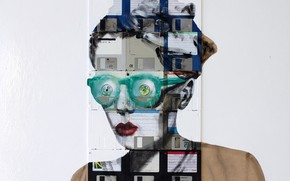 Picture Nick Gentry, LEFT TO MY OWN DEVICES, green glasses