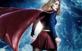 Wallpaper red, girl, logo, green eyes, dress, woman, blue, beautiful, singer, blonde, American, pose, actress, DC ...