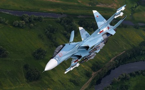 Wallpaper multipurpose, Su-30CM, Su-30SM, fighter
