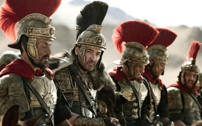 Picture cinema, soldier, armor, army, movie, horse, film, warrior, pearls, Roman, Adrien Brody, centurion, Tian jiang ...