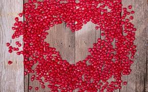 Picture love, wood, romantic, hearts, sweet, valentine's day, Valentines, serdechki