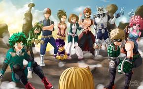Picture anime, hero, manga, powerful, strong, uniform, yuusha, seifuku, shounen, shonem, japonese, Boku no Hero Academy, …