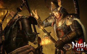 Picture sword, game, armor, katana, fight, ken, blade, samurai, asian, warrior, japanese, pearls, oriental, asiatic, official …