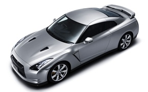 Picture coupe, nissan, GT-R