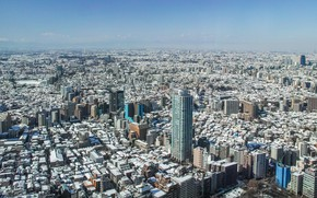 Picture the city, Tokyo, panorama