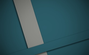 Wallpaper material, line, design, blue, geometry, grey