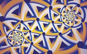 Picture star, texture, art, fractal, Jan Jämsén, Fractal artworks 2017