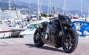 Picture black, Lotus, motorcycle, Lotus, black, bike, motorcycle, superbike, sportbike, Lotus C-01