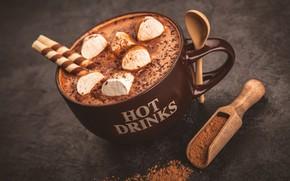Wallpaper coffee, drink, cocoa