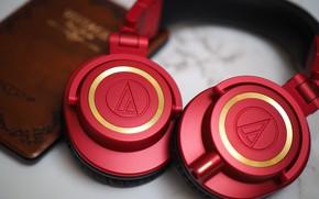 Picture macro, style, headphones, ATH-M50xRD