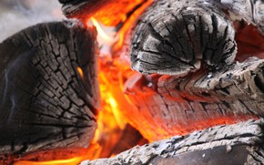 Picture fire, ash, carbon, heat, combustion, chain reaction