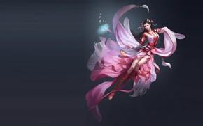Picture the game, fantasy, art, illustrator, work, Skil, costume design, li miao