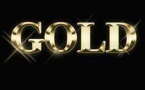 Picture text, gold, the inscription, Blik, Gold, the Wallpapers, hotspot, Golden text, the gold inscription, Wallpaper …