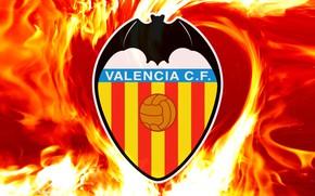 Picture wallpaper, sport, logo, football, Valencia CF