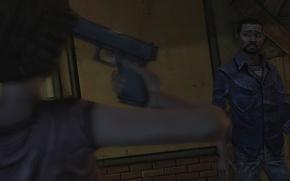 Picture pistol, The Walking Dead, Telltale Games, Lee Everett
