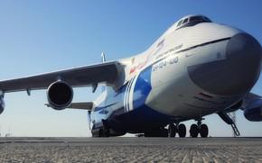 Picture The plane, Wings, Russia, Engines, Soviet, An-124, Ruslan, Antonov, Huge, 400, Antonov, Condor, Condor, Chassis, …