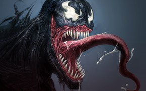 Picture art, Marvel Comics, Venom, Eddie Brock