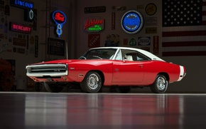 Picture Dodge, Red, Hemi, Charger RT