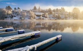 Picture winter, Norway, Norway, Rogaland, Røyksund