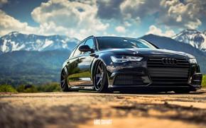 Picture Audi, Auto, Black, Audi, Machine, Car, The front, Audi A6, German, Mike Crawat Photography, Mike …