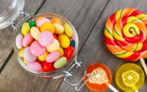 Picture colorful, candy, sweets, lollipops, sweet, candy, lollipop