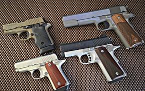 Wallpaper SIG-P238-380, --Colt-9-MM, --Kimber-Micro-380, --Kimber-Ultra-Carry-II-45-ACP