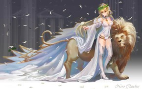 Picture Leo, The saber, Girl, Fate / Grand Order, The destiny of a great campaign