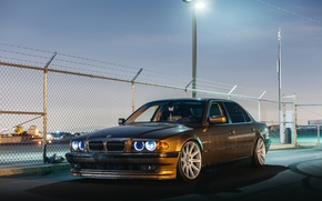 Wallpaper stance, 7 series, E38, car, e38, BMW, bmw, tuning