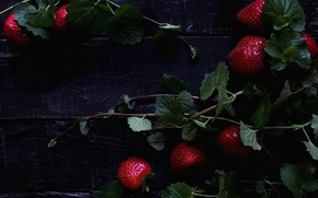 Picture red, berries, strawberry