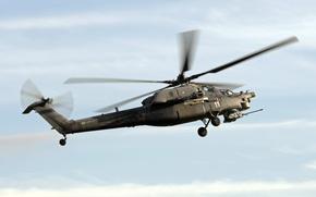 Wallpaper helicopter, Mi-28, shock, Night hunter