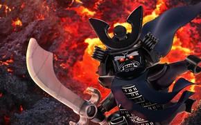 Picture sword, armor, ken, Lego, blade, samurai, animated film, pearls, animated movie, shogun, The Lego Ninjago, …