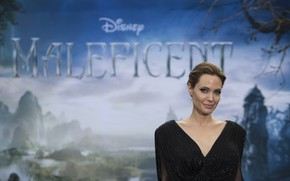 Picture actress, Angelina Jolie, celebrity, Maleficent, Maleficent