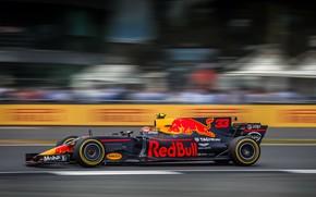 Wallpaper Red Bull, Silverstone, Max Verstappen, F1 British Grand Prix 2017
