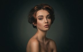 Picture look, girl, portrait, Polina, Alexey Kazantsev