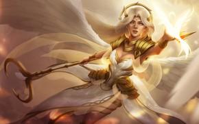 Picture look, wings, angel, fantasy, art, angel